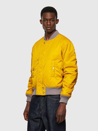 Diesel - J-MA-ONE-REV, Grey/Yellow - Jackets - Image 4