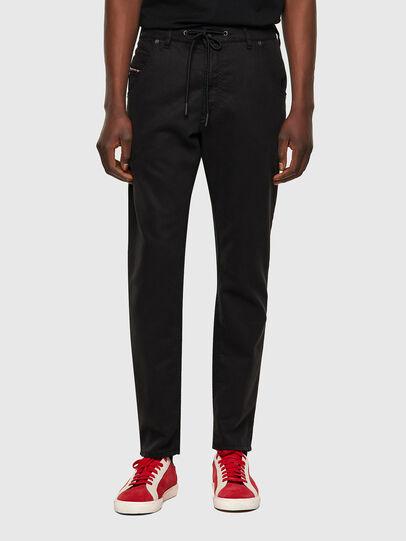 Diesel - Krooley JoggJeans® 069NC, Negro/Gris oscuro - Vaqueros - Image 1