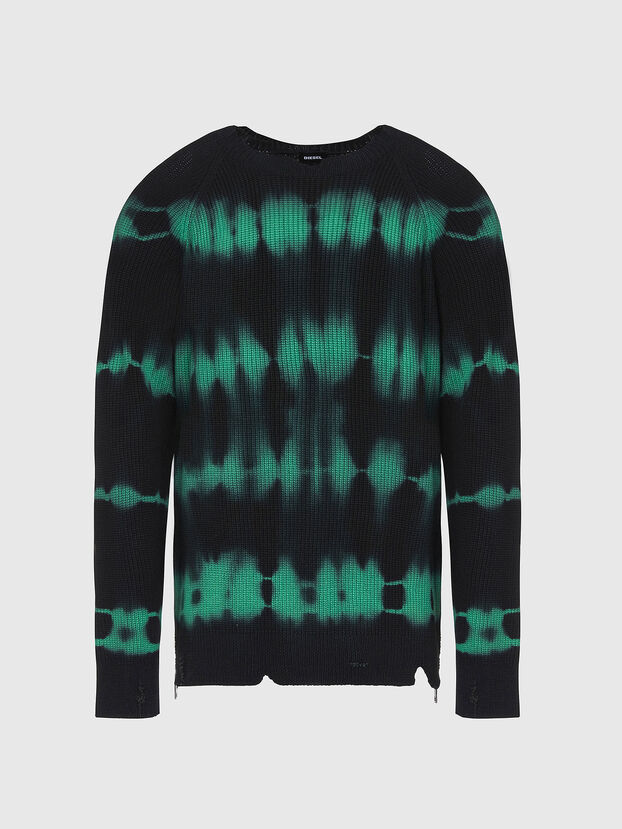 K-TONI, Black/Green - Sweaters
