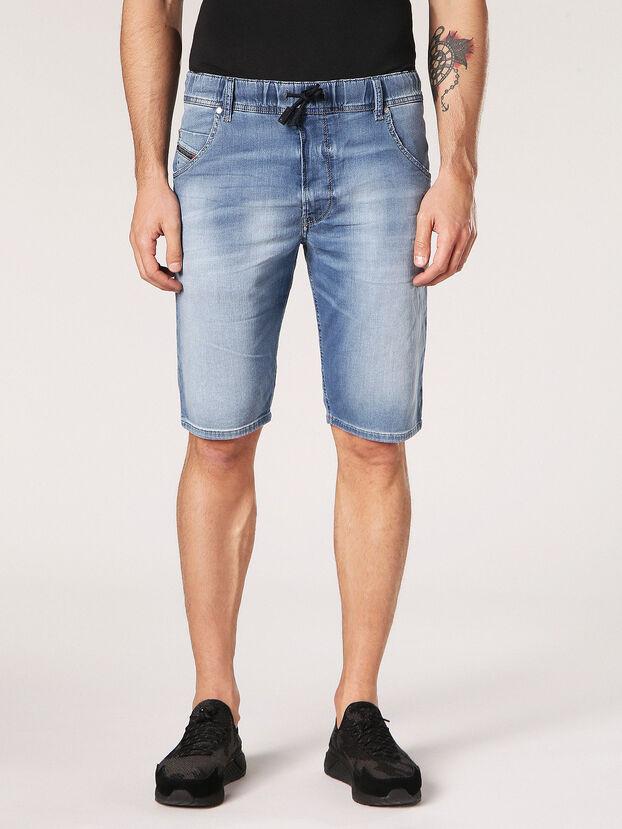 KROOSHORT JOGGJEANS, Light Blue - Shorts