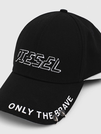 Diesel - CEDOUBLE, Black/White - Caps - Image 3