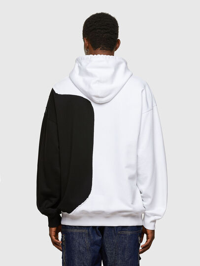 Diesel - S-BLASTY, White/Black - Sweatshirts - Image 2