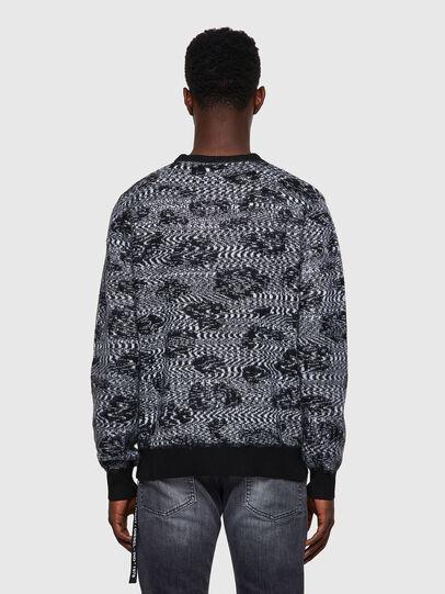 Diesel - K-AZOTIC, Black/Grey - Sweaters - Image 2