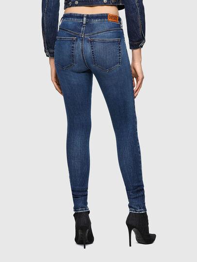 Diesel - Slandy Skinny Jeans 009ZX, Dark Blue - Jeans - Image 2