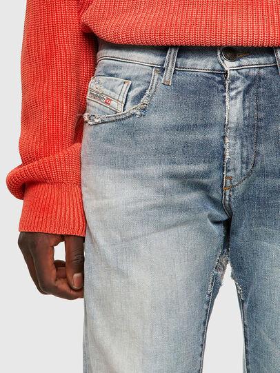 Diesel - D-Strukt Slim Jeans 09A04, Light Blue - Jeans - Image 4