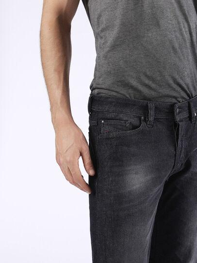 Diesel - Viker U0823, Black/Dark Grey - Jeans - Image 8
