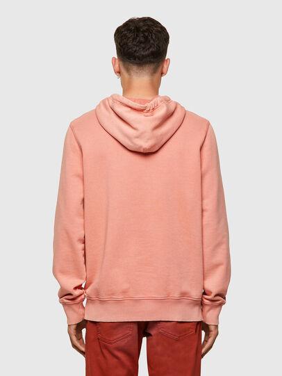Diesel - S-GIRK-HOOD-MOHI-B1, Pink - Sweatshirts - Image 2