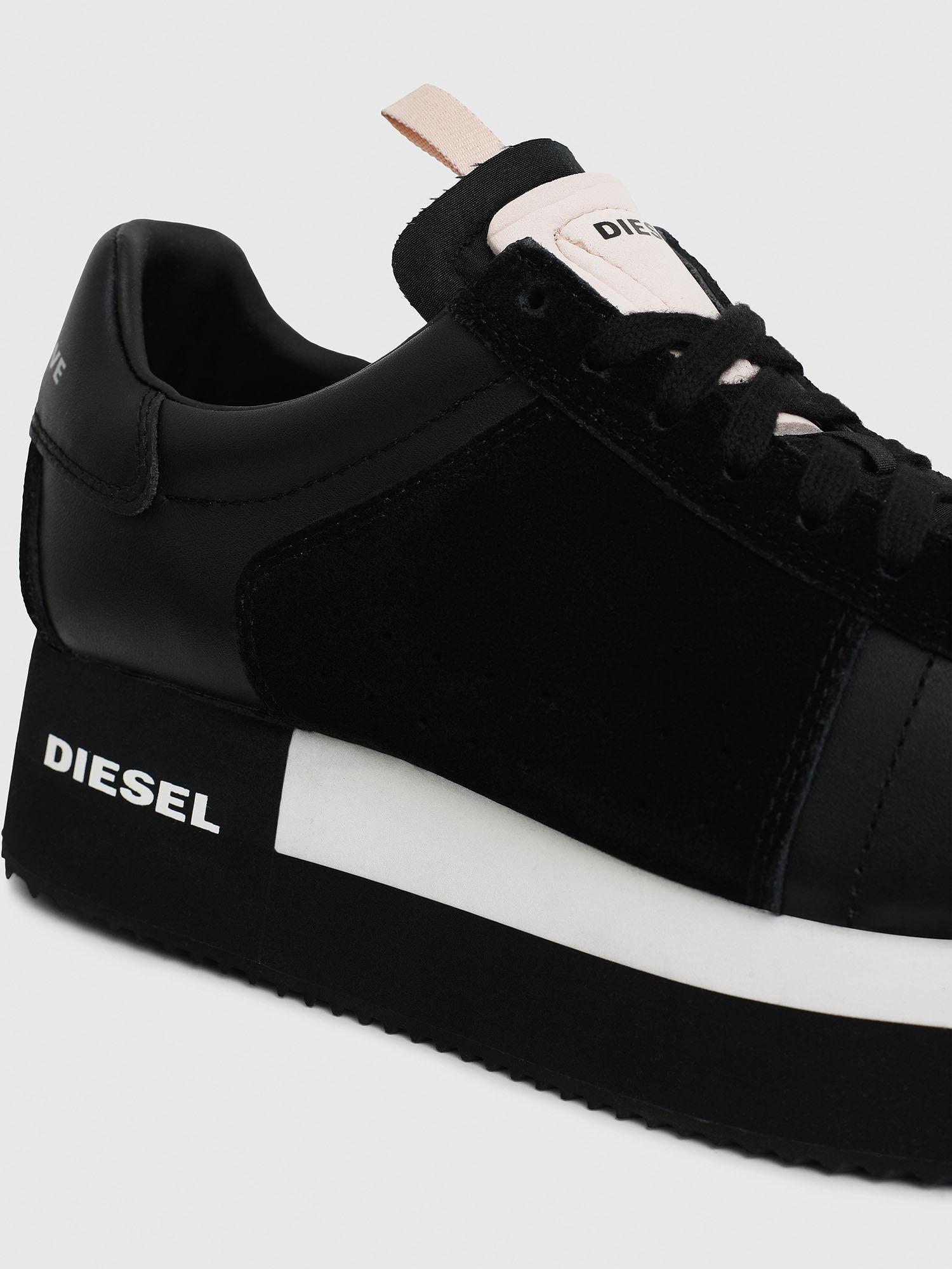 S-PYAVE WEDGE Women: Wedge sneakers in