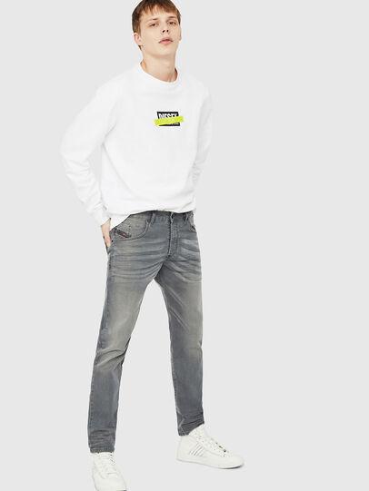 Diesel - D-Bazer 0699P, Grey Jeans - Jeans - Image 4
