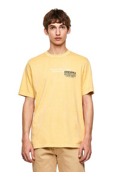 Camiseta Green Label con estampado industrial