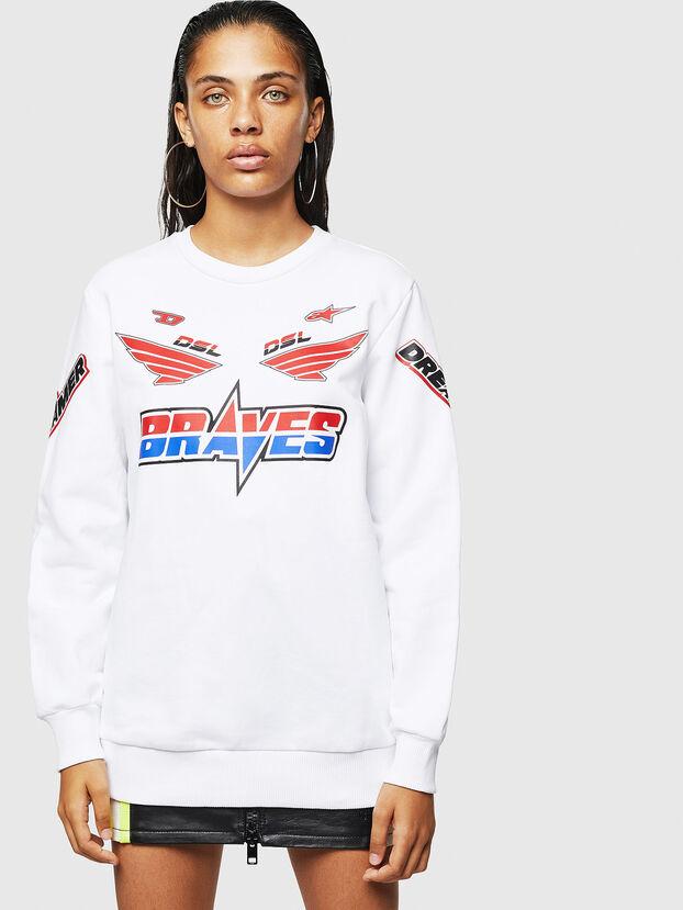 ASTARS-F-GIR-A-FL, White - Sweatshirts