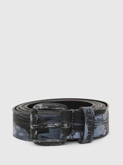 Diesel - B-LONG, Blue - Belts - Image 1