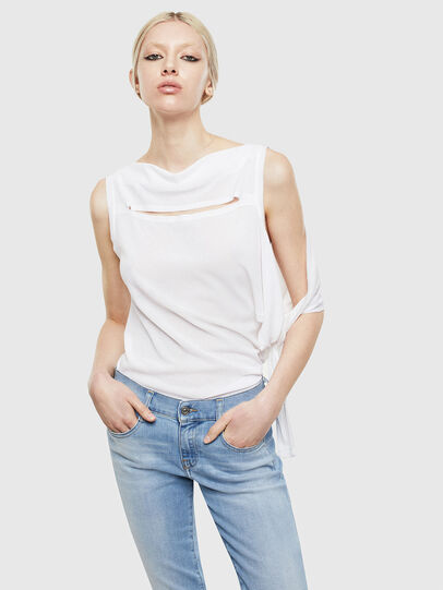Diesel - T-TATY, White - T-Shirts - Image 4