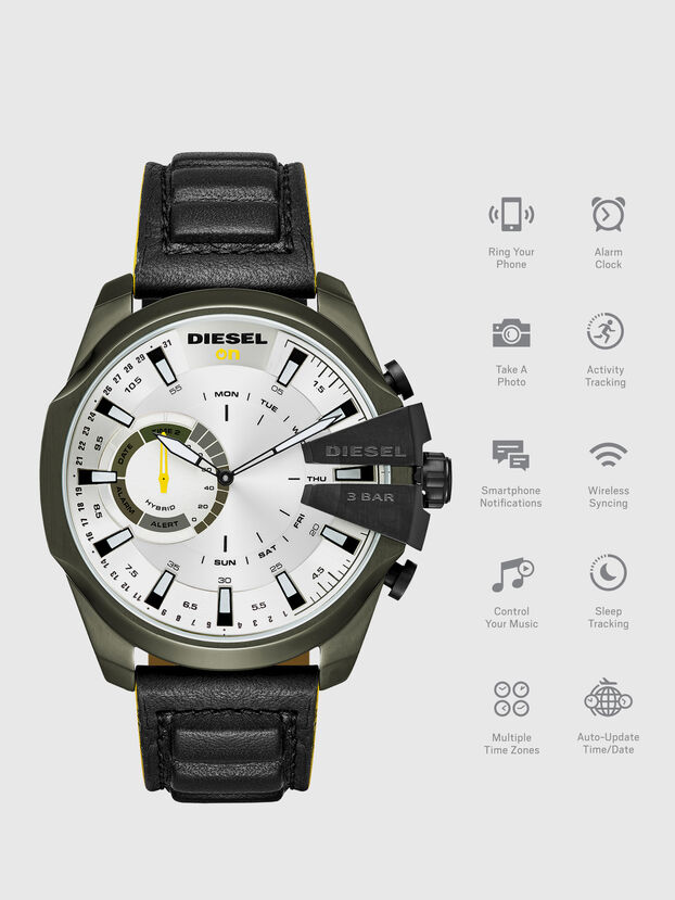 DT1012, Black - Smartwatches