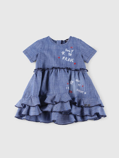 Diesel - DRELLAB, Blue Jeans - Dresses - Image 1
