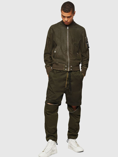 Diesel - L-NIKOLAI, Military Green - Leather jackets - Image 5