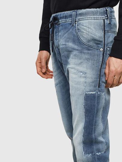 Diesel - Krooley JoggJeans 069JZ, Light Blue - Jeans - Image 4