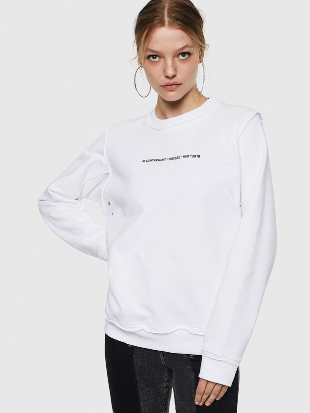 F-LYANY-F, White - Sweatshirts