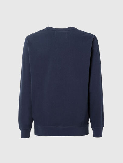 Diesel - UMLT-WILLY, Blue - Sweatshirts - Image 2