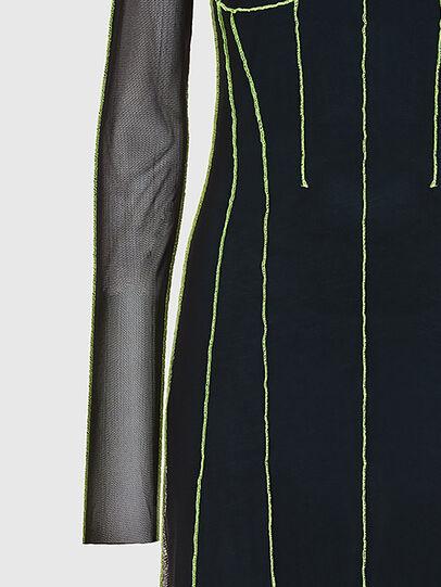 Diesel - D-VINA, Black/Green - Dresses - Image 5