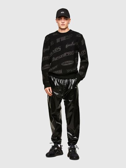 Diesel - K-NICKEL, Black - Sweaters - Image 4