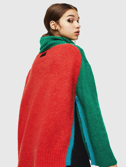 Diesel - M-PERSIA, Green/Red - Sweaters - Image 2