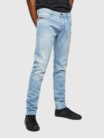 Diesel - D-Luster 0095U, Light Blue - Jeans - Image 1