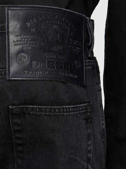 Diesel - D-Kras Slim Jeans 009RC, Black/Dark Grey - Jeans - Image 4