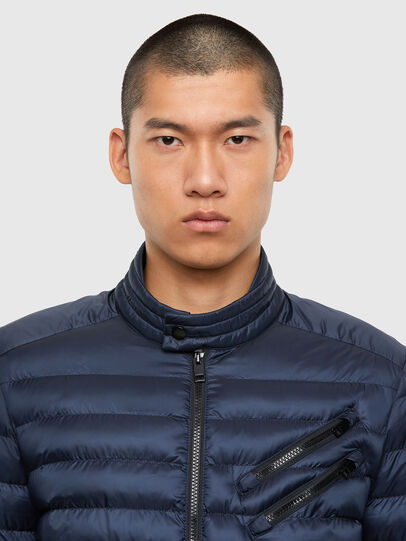 Diesel - W-DOLMIR-KA, Dark Blue - Winter Jackets - Image 6