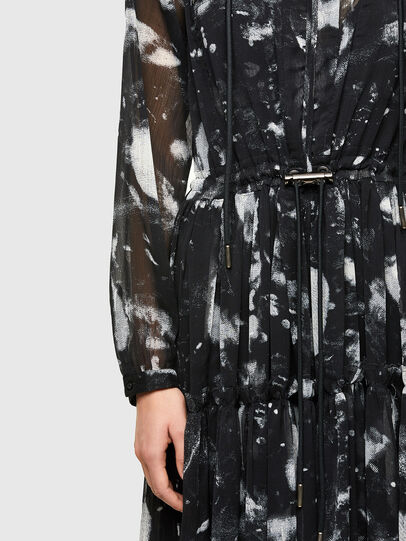 Diesel - D-HINES-A, Black - Dresses - Image 5