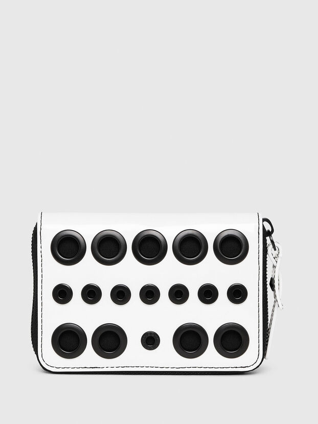 JADDAA, White/Black - Small Wallets