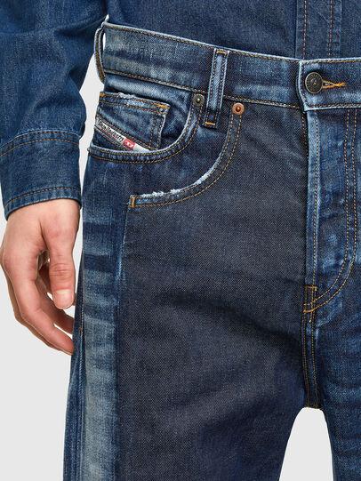 Diesel - D-Vider Carrot Jeans 009NJ, Medium Blue - Jeans - Image 3