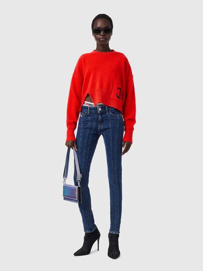 Diesel - M-IDAHI, Orange - Sweaters - Image 4