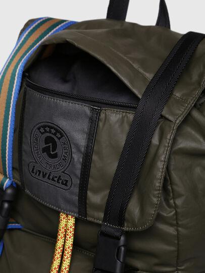 Diesel - M-INVICOLAB BACK II, Dark Green - Backpacks - Image 5