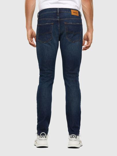 Diesel - D-Luster 009EL, Dark Blue - Jeans - Image 2
