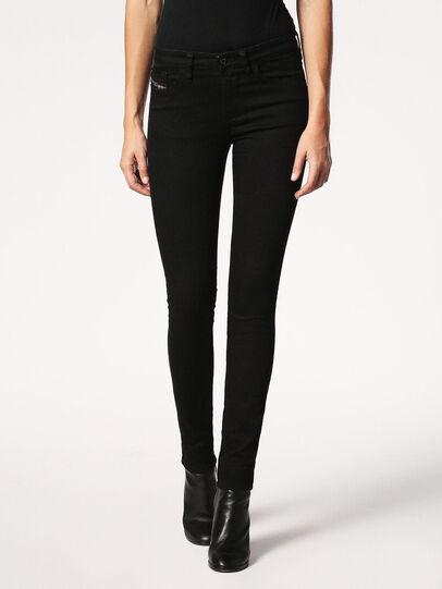 Diesel - Skinzee 0813E, Black/Dark Grey - Jeans - Image 2