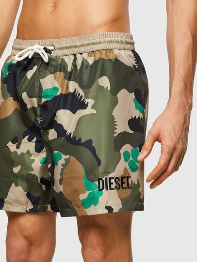 Diesel - BMBX-WAVE 2.017, Military Green - Swim shorts - Image 3