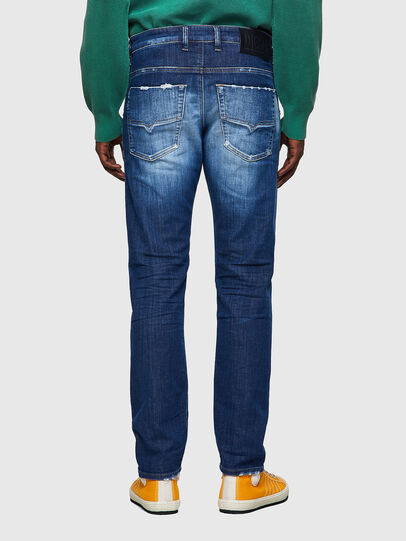 Diesel - Krooley Tapered JoggJeans® 09B52, Medium Blue - Jeans - Image 2