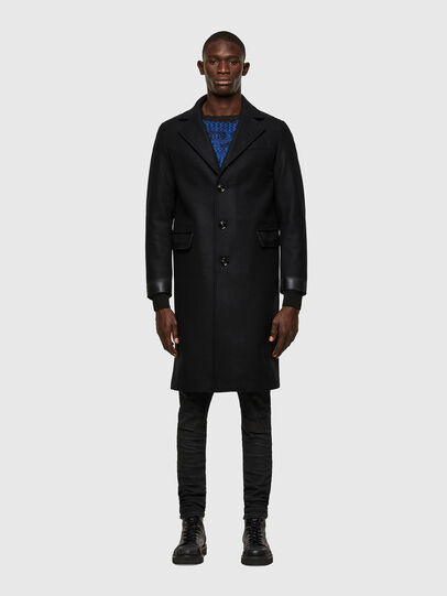 Diesel - W-COLBAX, Black - Winter Jackets - Image 1