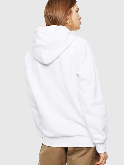 Diesel - S-GIRK-HOOD, White - Sweatshirts - Image 3