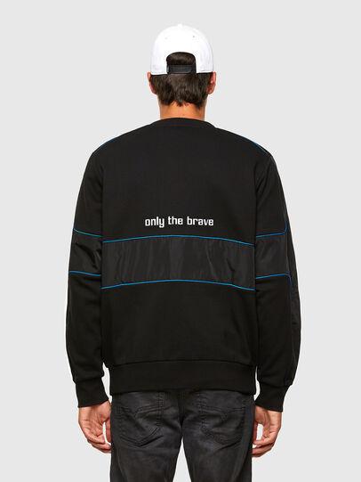 Diesel - S-LAIN, Black - Sweatshirts - Image 2