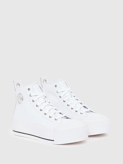 Diesel - S-ASTICO MC WEDGE, Blanco - Sneakers - Image 2