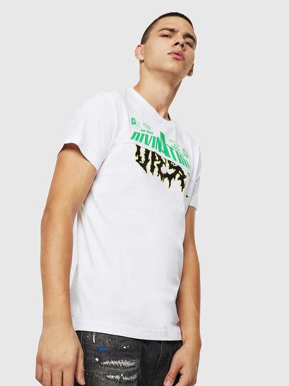 Diesel - T-DIEGO-B12, White - T-Shirts - Image 1