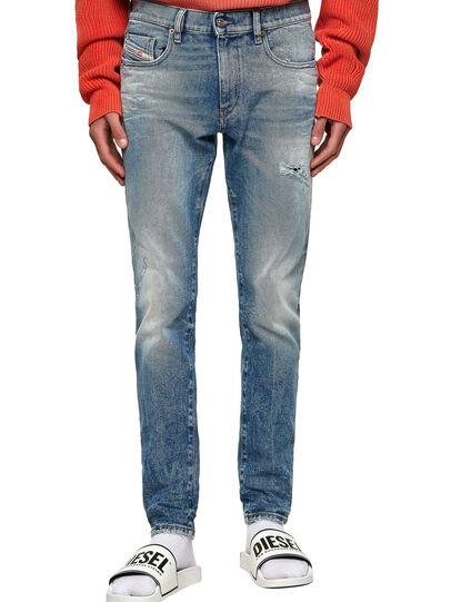 Diesel - D-Strukt Slim Jeans 009MW, Medium Blue - Jeans - Image 1