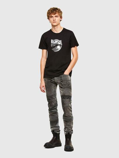 Diesel - T-INO, Black - T-Shirts - Image 5
