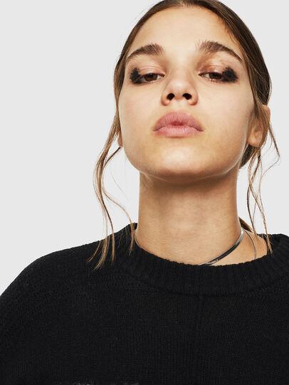 Diesel - M-POST, Black - Sweaters - Image 5