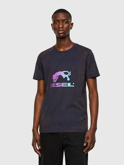 Diesel - T-DIEGOS-E1, Dark Blue - T-Shirts - Image 1