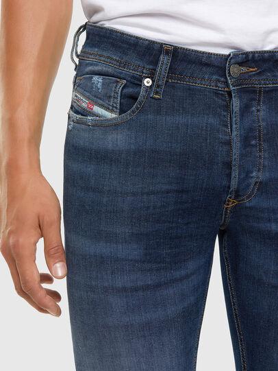 Diesel - Sleenker Skinny Jeans 009DK, Dark Blue - Jeans - Image 3