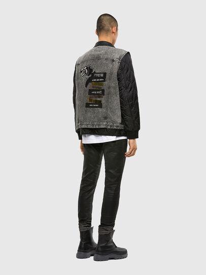 Diesel - D-Strukt JoggJeans® 069QX, Black/Dark Grey - Jeans - Image 6