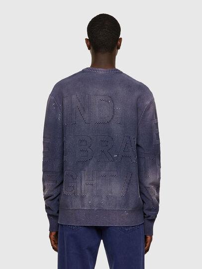 Diesel - K-NORTHERN, Blue - Sweaters - Image 2